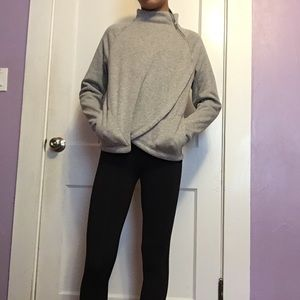 Athleta Girl Fuzzy sweatshirt Size 14